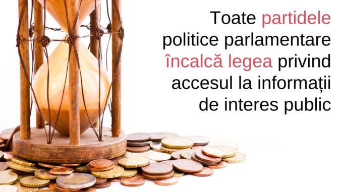partide si informații de interes public
